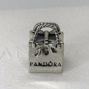 Pandora bracelet charm shopping bag charm beads